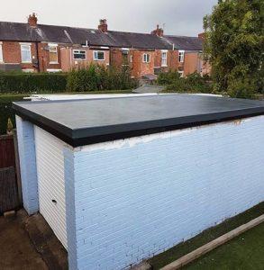 Garage Flat Roofing - GRP Fibreglass