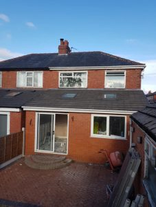 Home Extension Roof - Ashton, Preston.