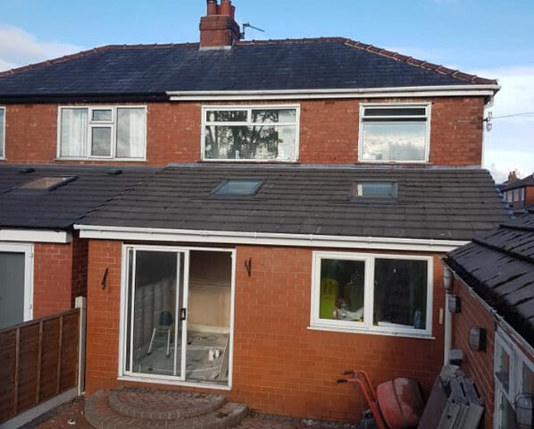 Home Extension Roof - Ashton, Preston.